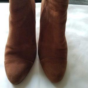 Cole Haan brown booties